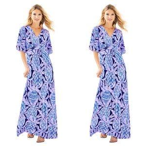 NWT Lilly Pulitzer Parigi Maxi Dress Size XS